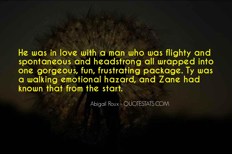 Quotes About Spontaneous Love #27261