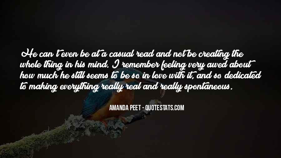 Quotes About Spontaneous Love #585124