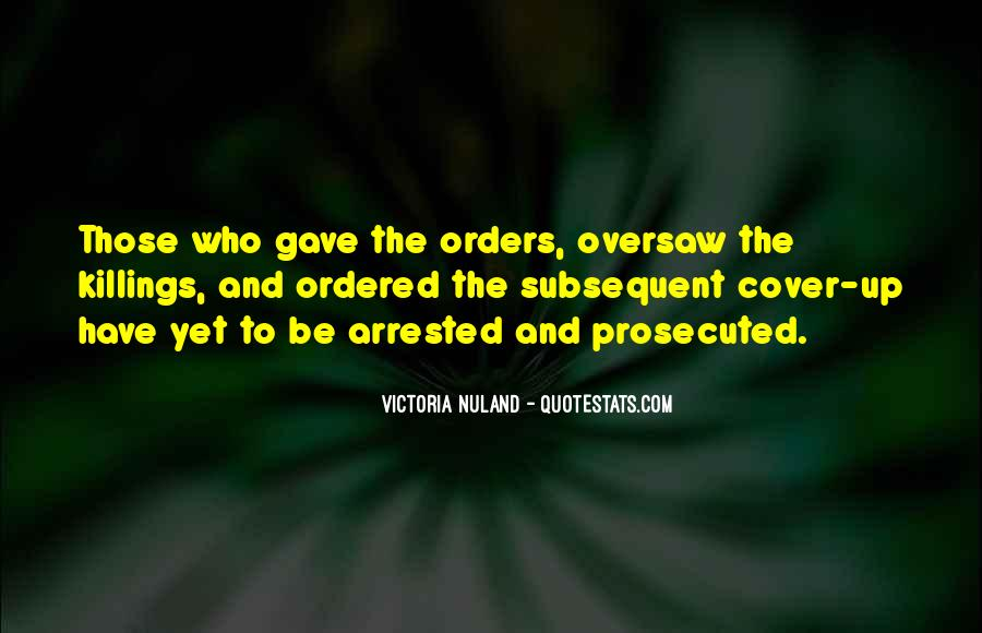 Quotes About Orders #114780