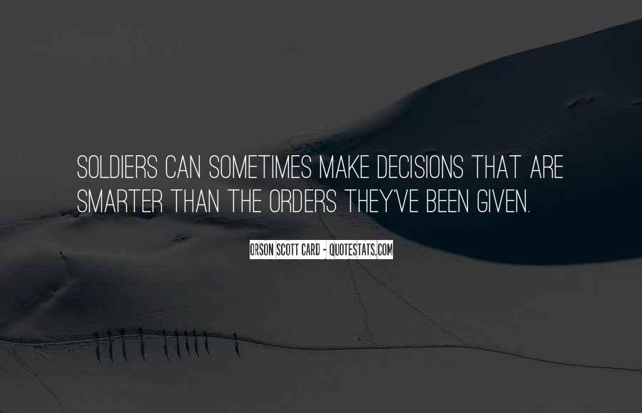 Quotes About Orders #11701