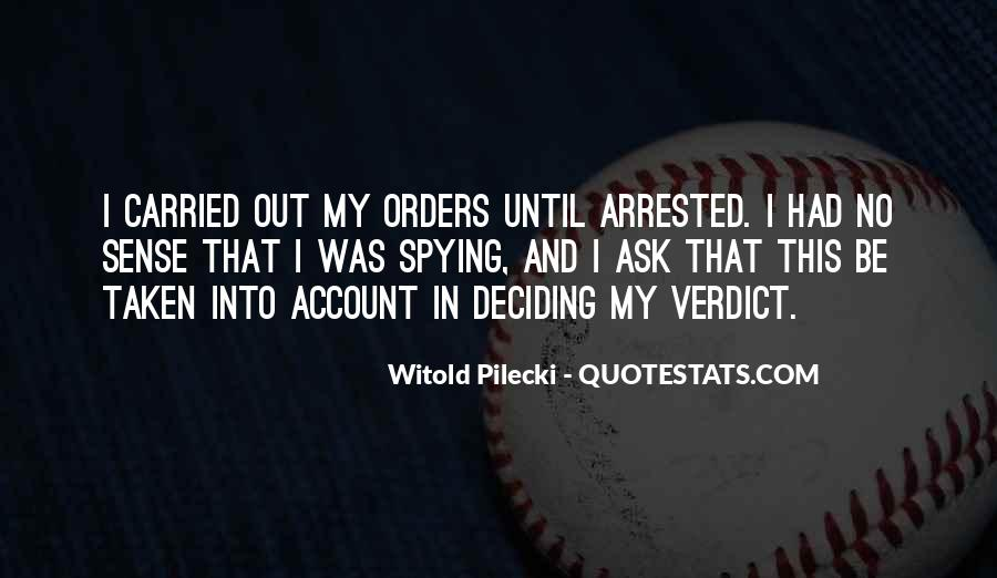 Quotes About Orders #138139