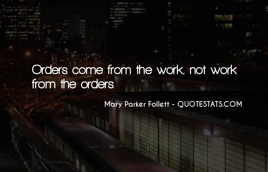 Quotes About Orders #13999