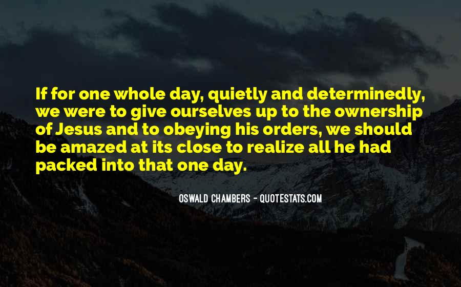 Quotes About Orders #177598