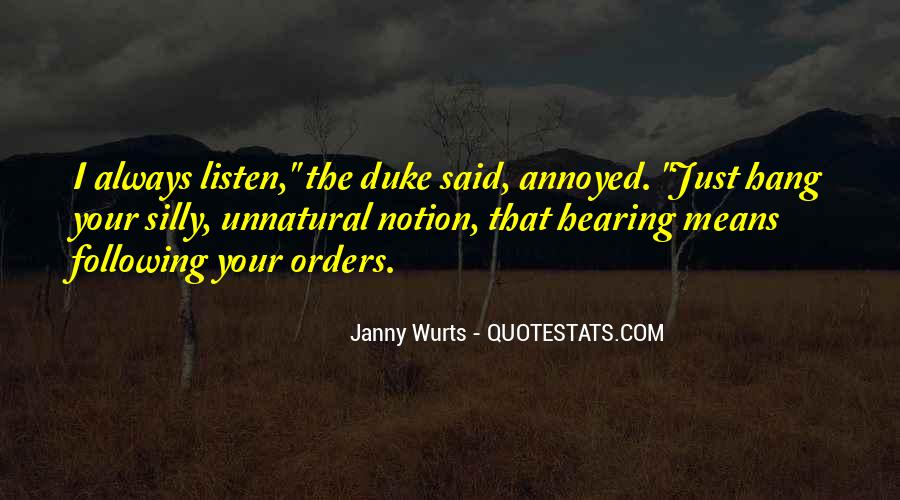 Quotes About Orders #182974