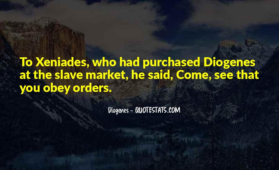 Quotes About Orders #58624