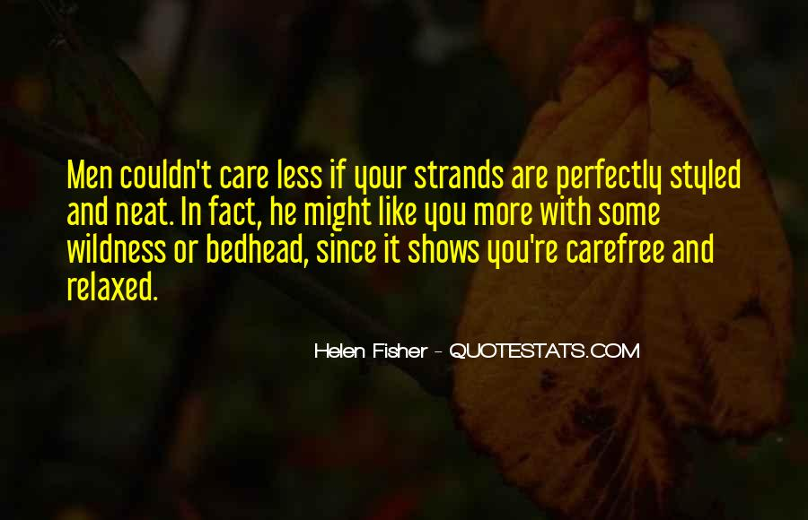 Quotes About Carefree #104502
