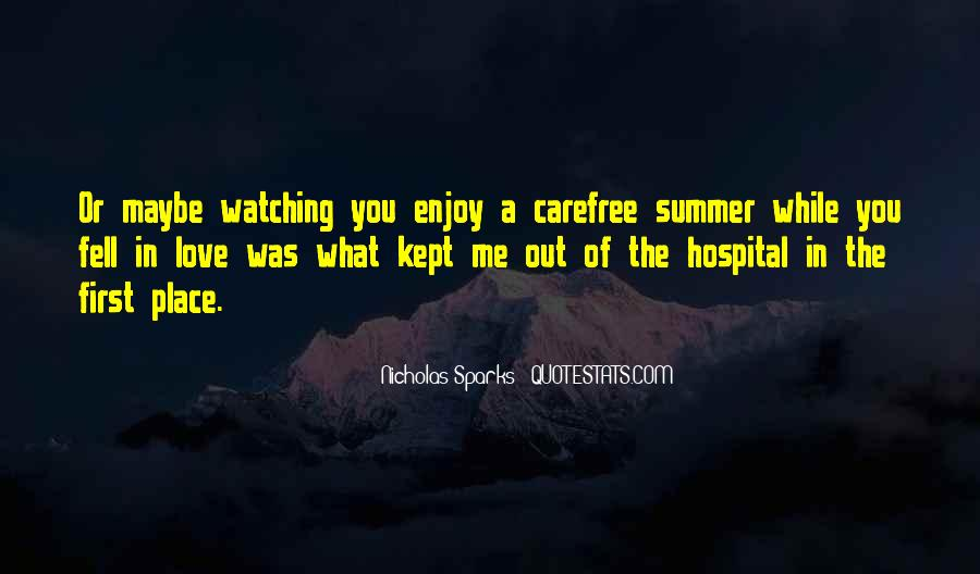 Quotes About Carefree #197956