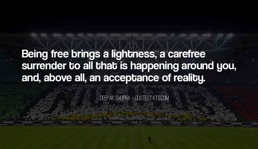 Quotes About Carefree #982619