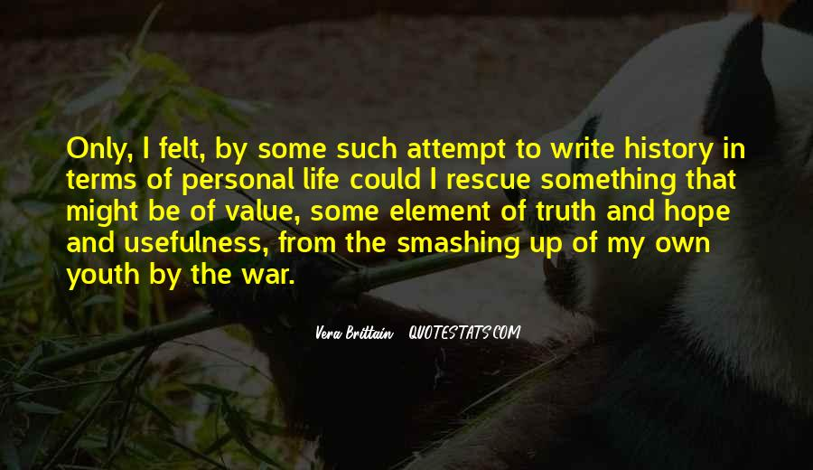 Sayings About Personal Value #1010356