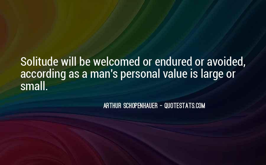 Sayings About Personal Value #1121393