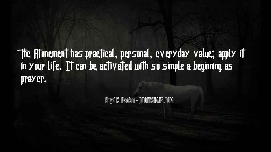 Sayings About Personal Value #1164567