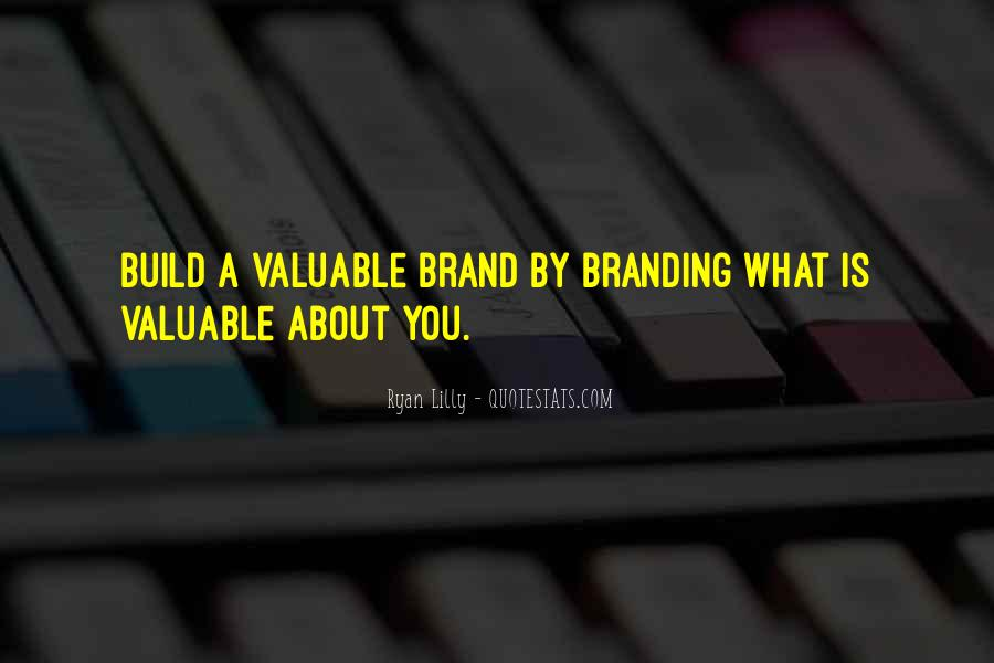 Sayings About Personal Value #1304984