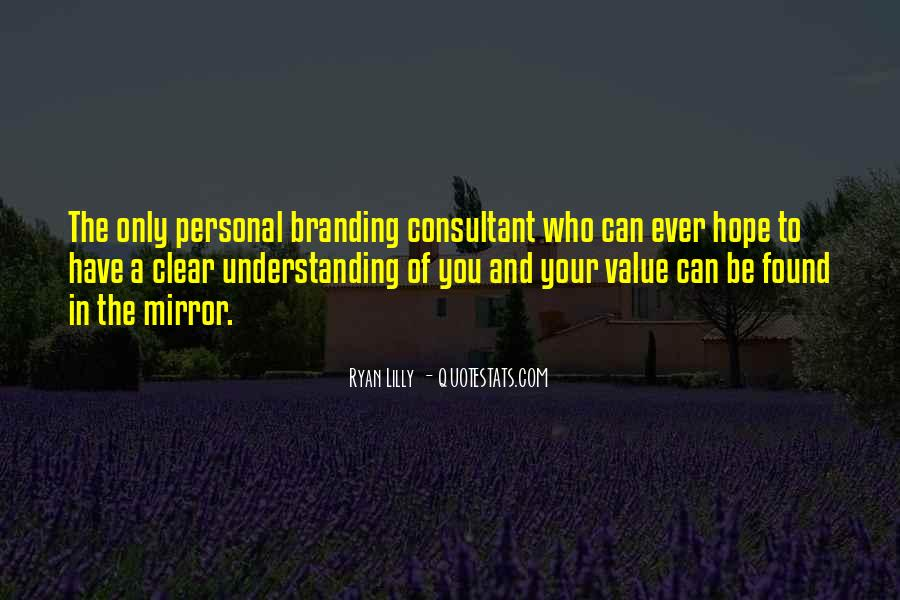 Sayings About Personal Value #327894