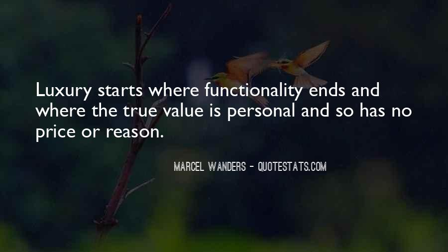 Sayings About Personal Value #342913