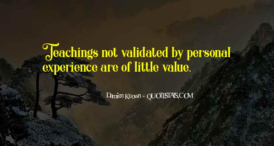 Sayings About Personal Value #398510
