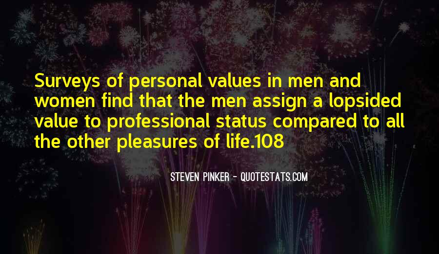 Sayings About Personal Value #503782