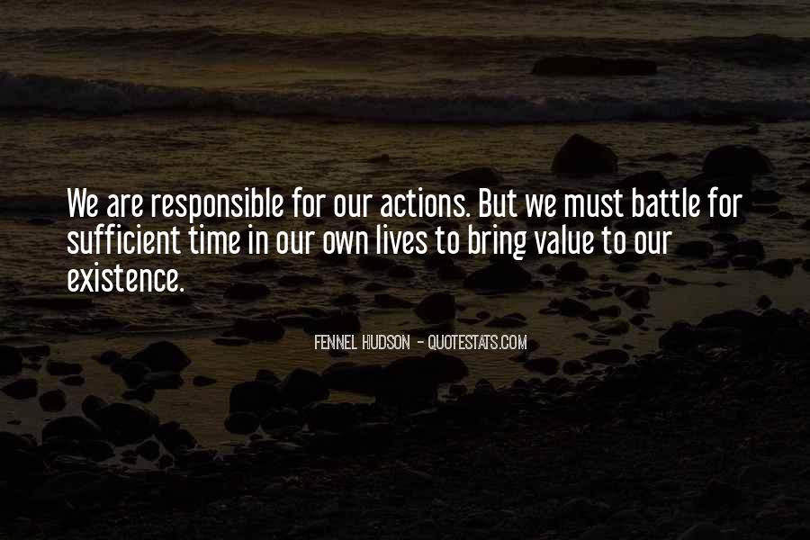 Sayings About Personal Value #507357