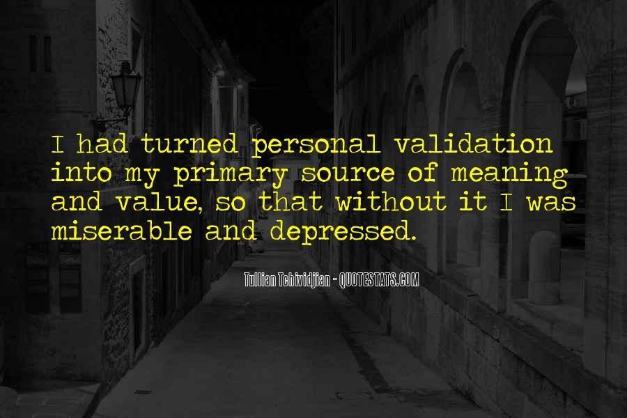 Sayings About Personal Value #555704