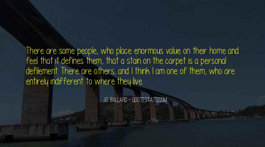 Sayings About Personal Value #561270