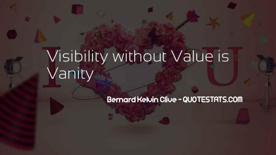 Sayings About Personal Value #568107