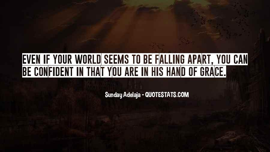 Sayings About Falling From Grace #1398759