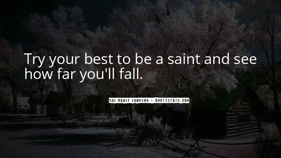 Sayings About Falling From Grace #1413665