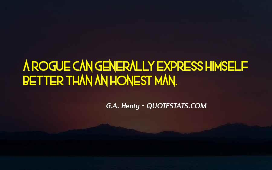 Sayings About An Honest Man #148538