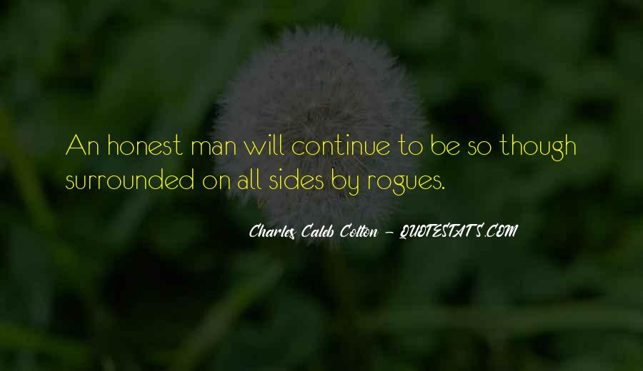 Sayings About An Honest Man #261572