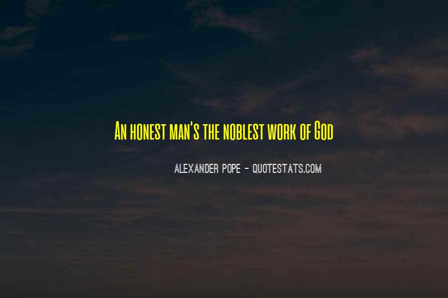 Sayings About An Honest Man #473086