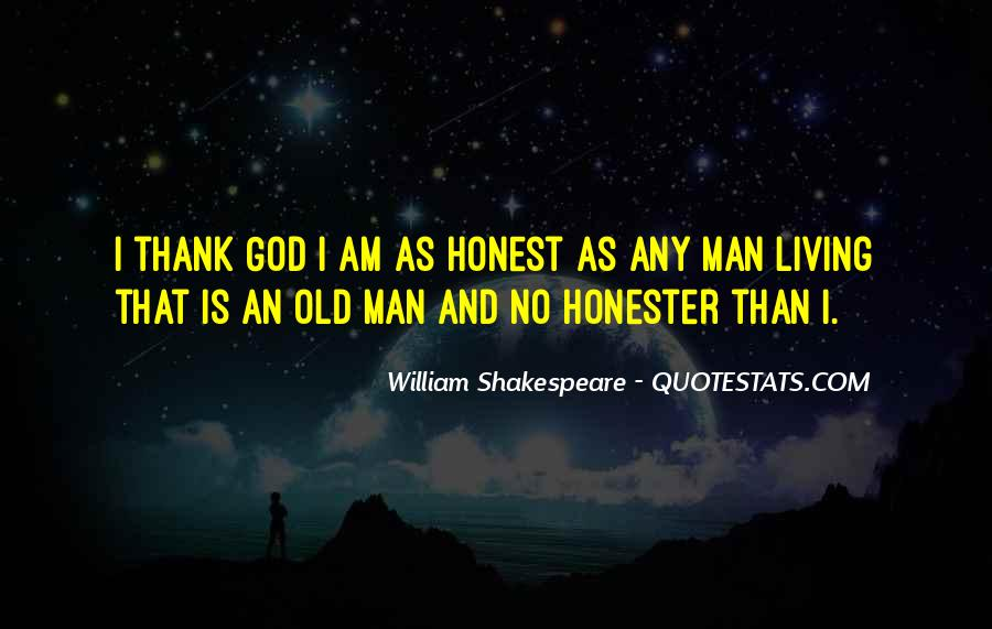Sayings About An Honest Man #507732