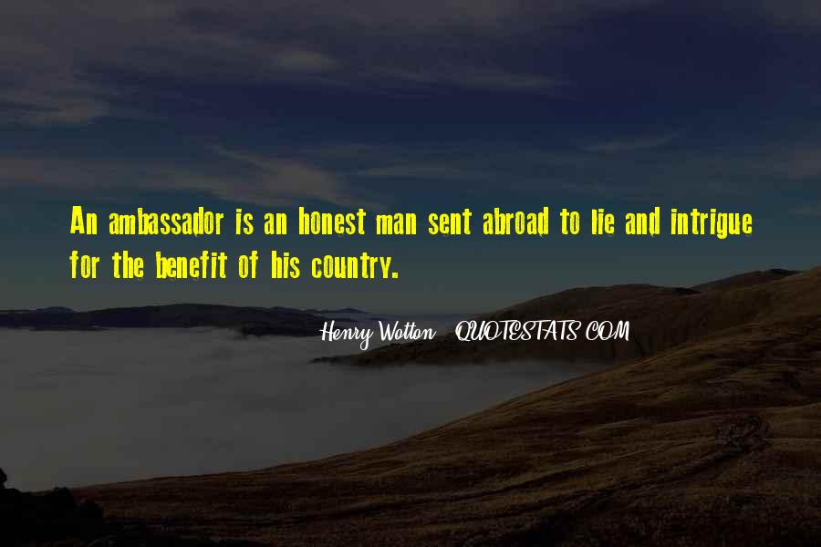 Sayings About An Honest Man #559244