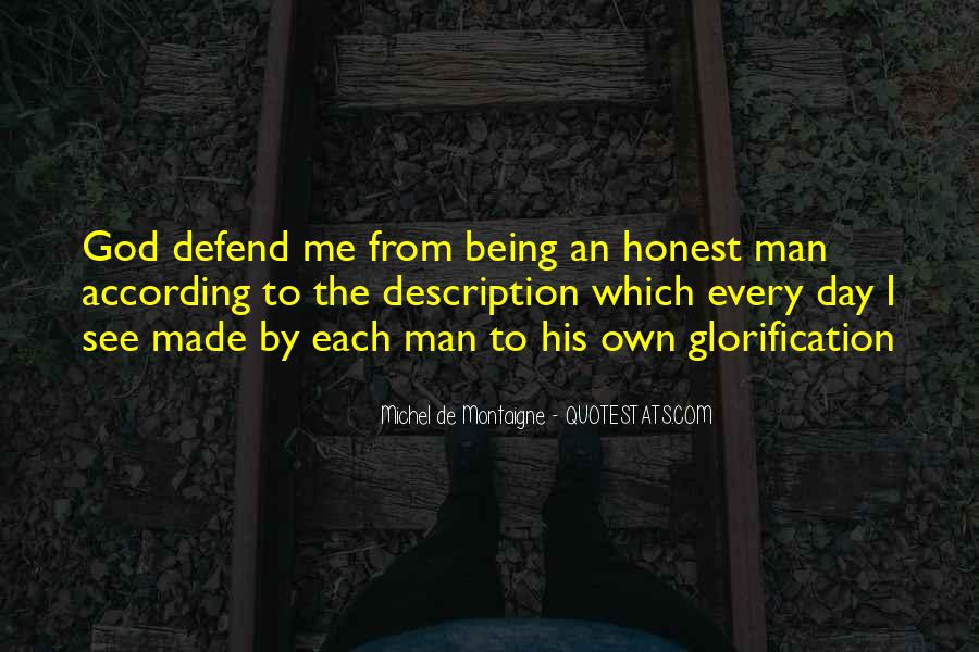Sayings About An Honest Man #623442