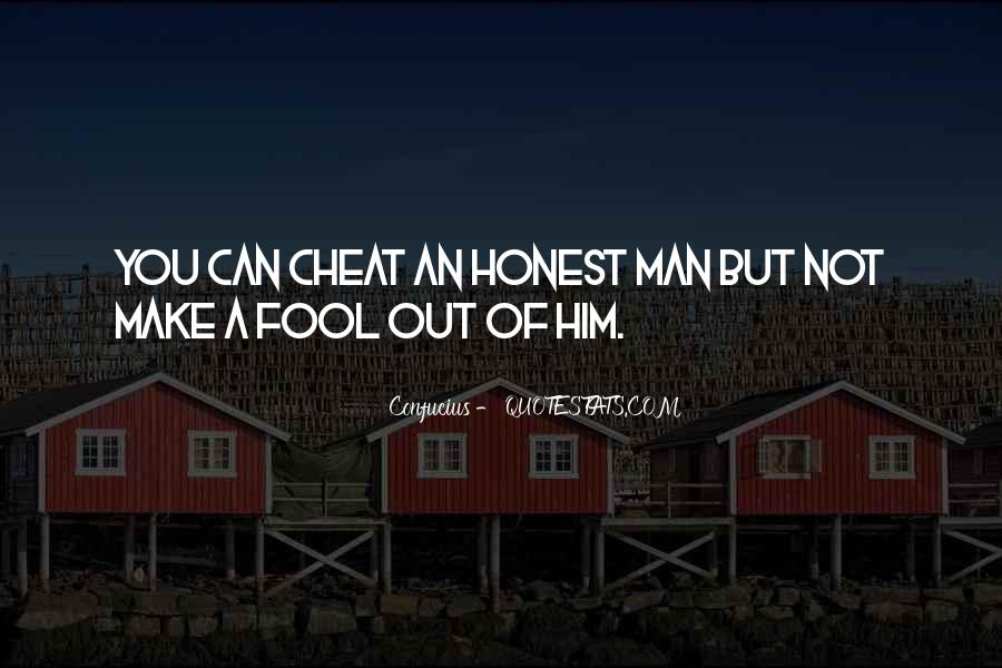 Sayings About An Honest Man #627325