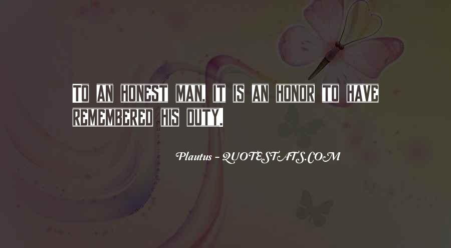 Sayings About An Honest Man #729287