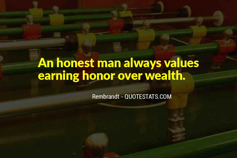 Sayings About An Honest Man #80676