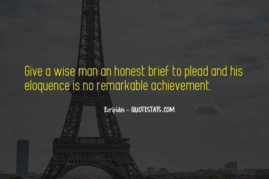 Sayings About An Honest Man #848966