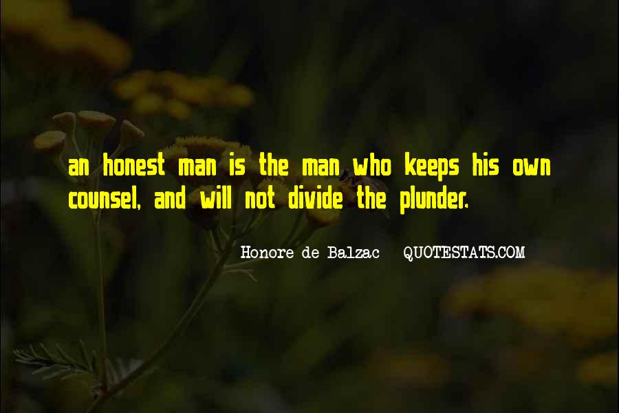 Sayings About An Honest Man #854714