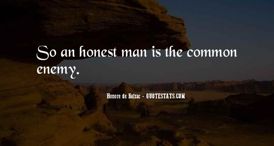 Sayings About An Honest Man #942653