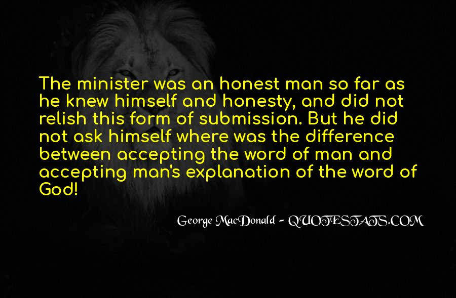 Sayings About An Honest Man #96450