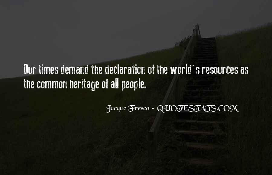 Sayings About World Heritage #1005131