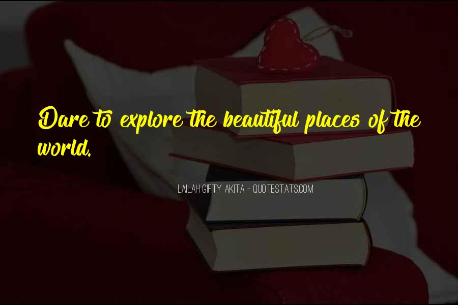 Sayings About World Heritage #251714