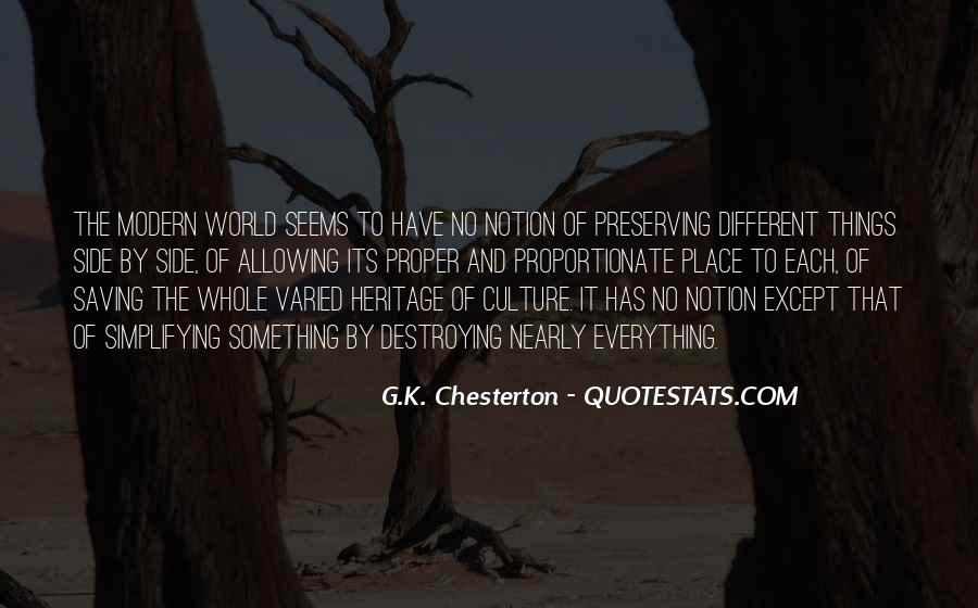 Sayings About World Heritage #621997