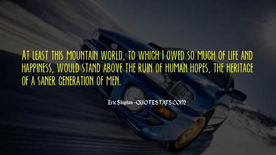 Sayings About World Heritage #707632