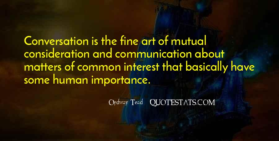 Sayings About The Importance Of Communication #1546778