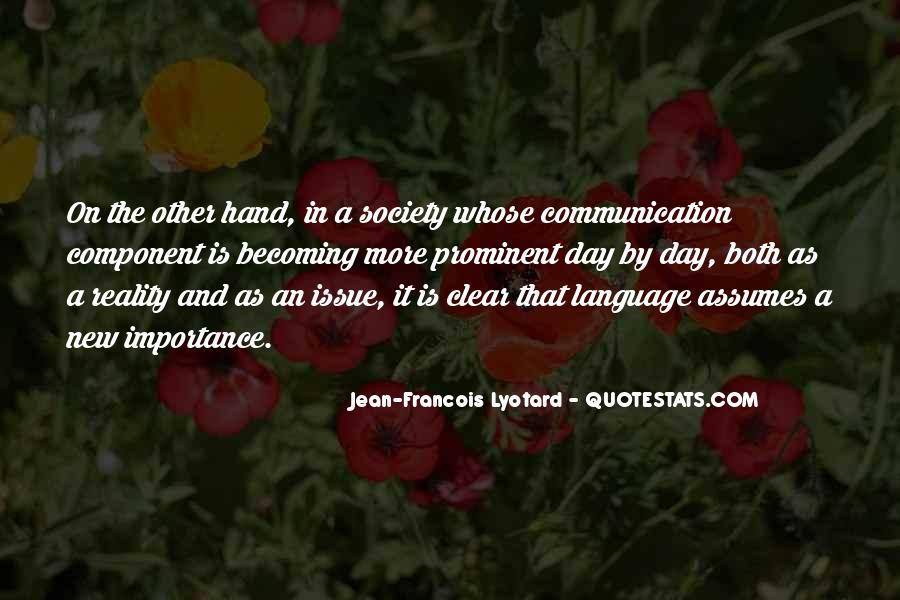 Sayings About The Importance Of Communication #245695