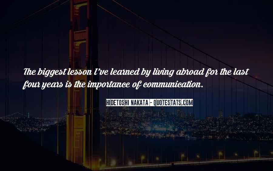 Sayings About The Importance Of Communication #417675