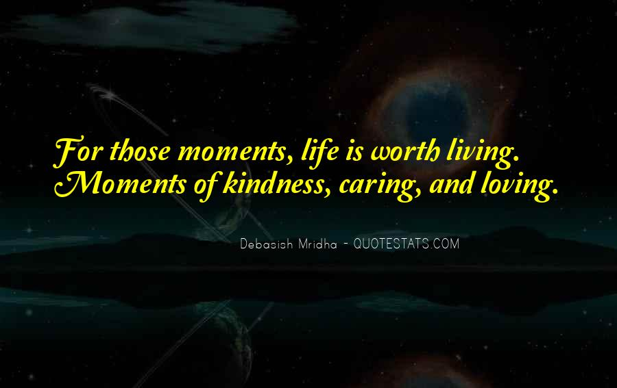 Sayings About Kindness And Caring #1757129