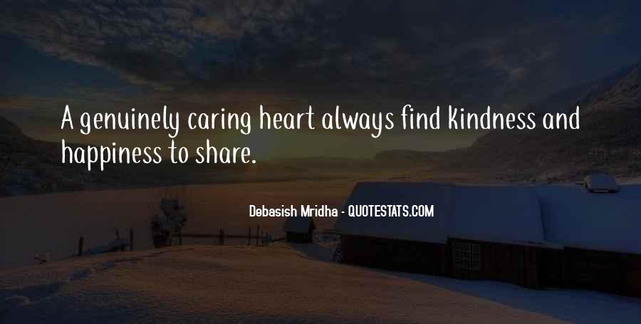 Sayings About Kindness And Caring #280038