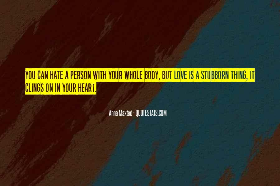 Sayings About A Stubborn Person #160124