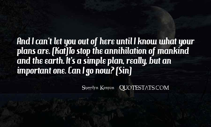 Quotes About Simple Plans #287209